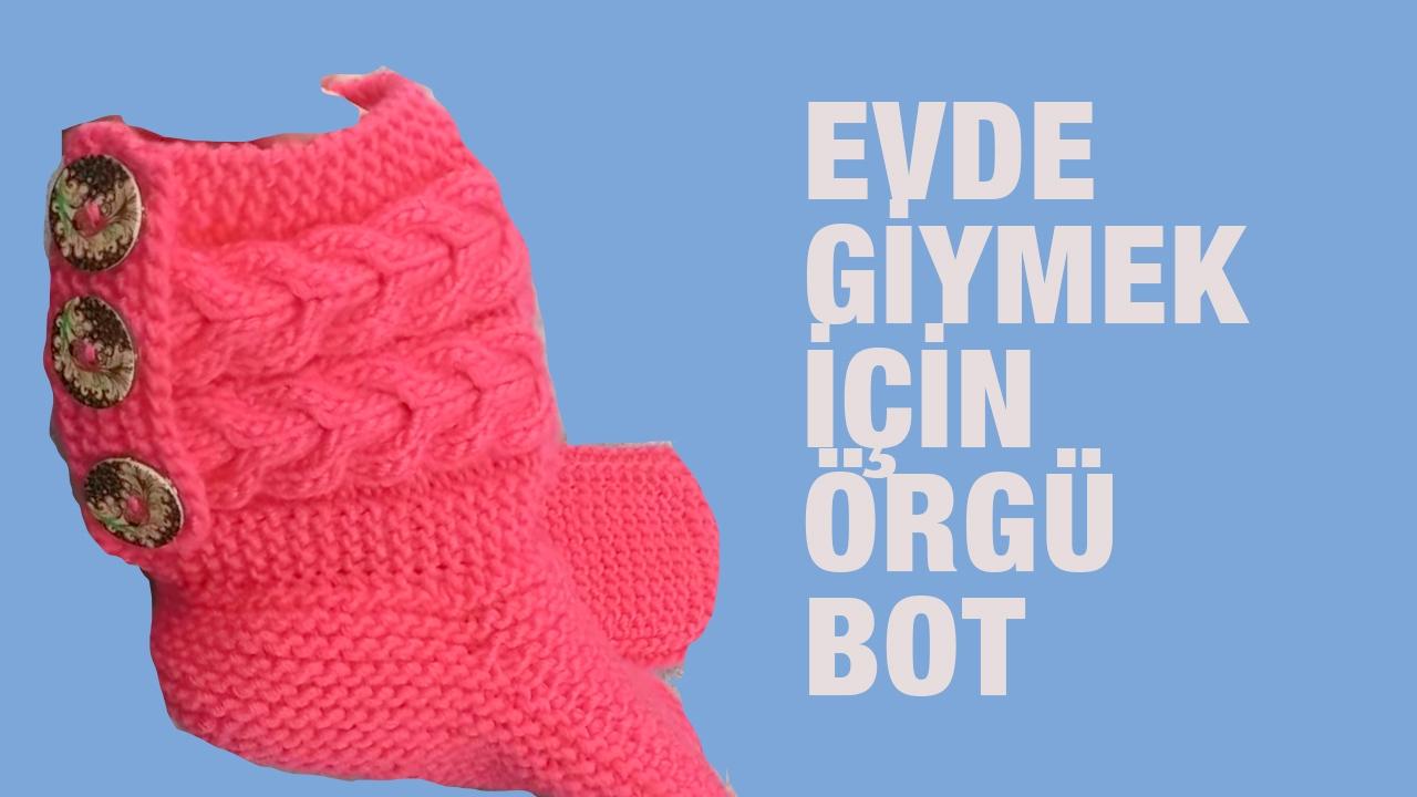 Kolay Sakallı Bot Patik Modeli Yapımı Açıklamalı Videolu