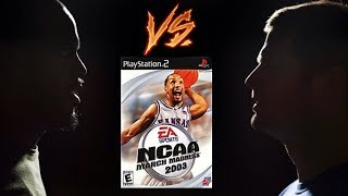 NCAA March Madness 2003 - Playstation 2 (PS2) - RSL - Tom vs Brian - Game 87