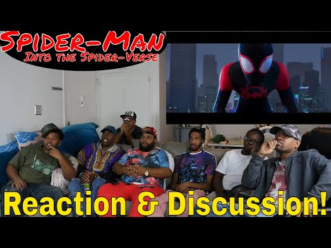 """Spider-Man: Into the Spider-Verse"" Teaser Trailer Reaction and Discussion! #triggered"