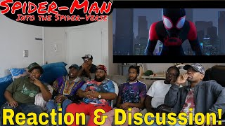"""""""Spider-Man: Into the Spider-Verse"""" Teaser Trailer Reaction and Discussion! #triggered"""