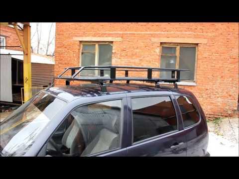 Багажник Б01.03 для Chevrolet Niva от Podgotoffka.ru
