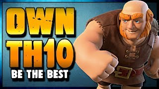 Become the BEST TH10 in your Clan with This Strategy | AWL wotw |  Clash of Clans
