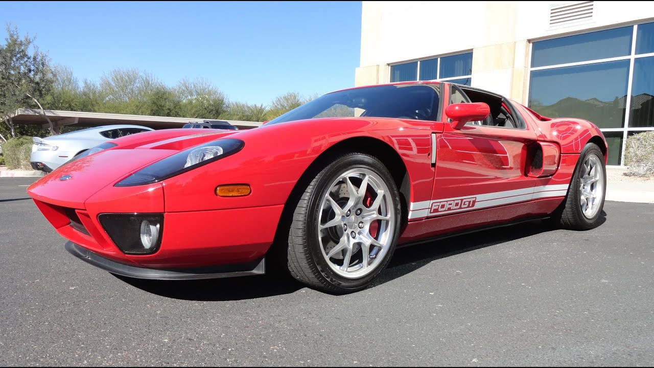Ford Gt Red The Retro Version Of The Racing Legend Ford Gt  My Car Story With Lou Costabile Youtube