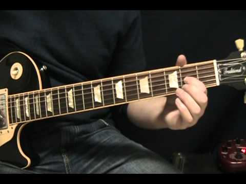 Guitar Lesson White Wedding By Billy Idol How To Play Tutorial
