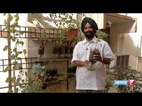 Jaswant Singh explains setting up of organic garden around our house | Poovali | News7 Tamil