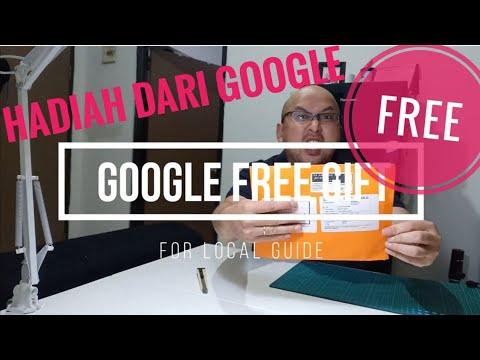 HADIAH Dari Google - FREE GIFT FORM GOOGLE