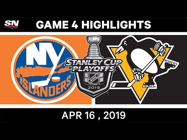 NHL Highlights | Islanders vs Penguins, Game 4 – April 16, 2019