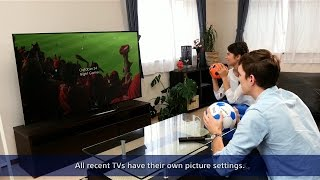 Sony BRAVIA - How to optimize your picture settings - best for sports -
