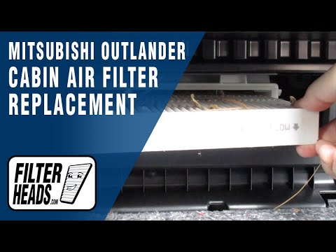How to Replace Cabin Air Filter 2019 Mitsubishi Outlander