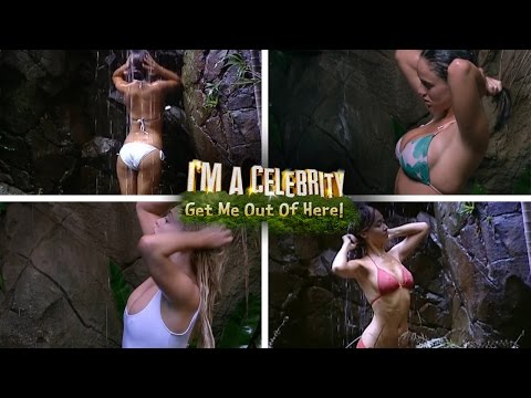 Best Of The Jungle Babe Showers | I'm A Celebrity... Get Me Out Of Here!