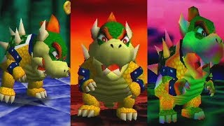 Super Mario 64 - All Bowser Levels