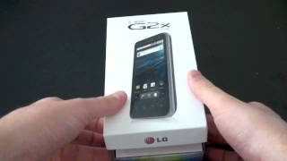 T-Mobile G2x Unboxing