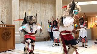 Rock Your Mocs 2017 - Santa Fe, New Mexico State Capitol - Acoma Pueblo Enchanted Dancers Clip 2