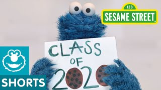 Sesame Street: Cookie Monster Graduation Speech | 2020 Commencement