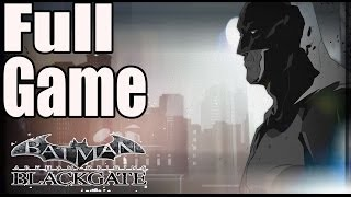 Batman Arkham Origins Blackgate Deluxe Edition Walkthrough Full Game