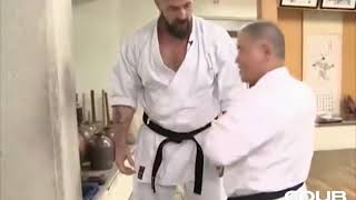 Самый сильный удар Каратэ-Киокушинкай.Сергей Бадюк .