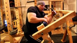 Home Made Bicep / Tricep Machine
