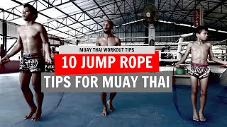 10 Jump Rope Tips & Tricks For Muay Thai