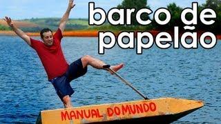Como navegar em um barco de papelão  - Navigating in a cardboard boat