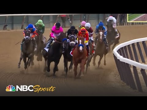 Belmont Stakes 2018 | Watch Larry Collmus' call of Justify's Triple Crown win | NBC Sports