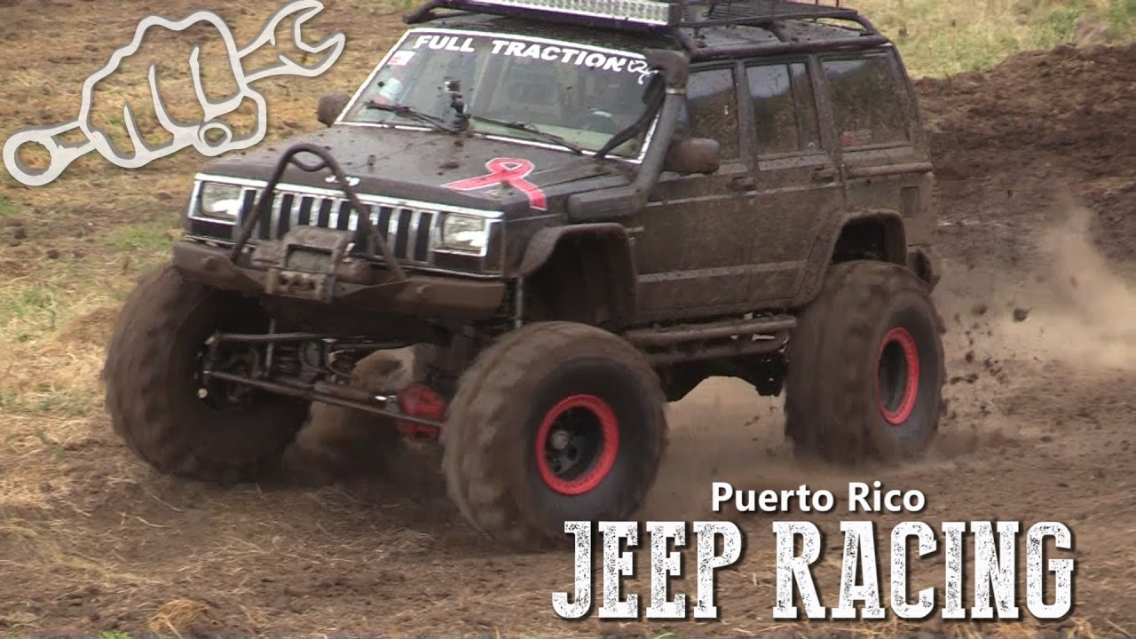EXTREME JEEP RACING IN PUERTO RICO - YouTube