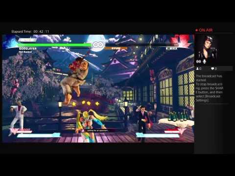 Street fighter 5 beta