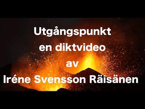 Utgångspunkt diktvideo av poeten Iréne Svensson Räisänen