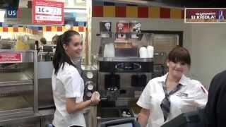 První Burger King Drive otevřen v Praze-Michli