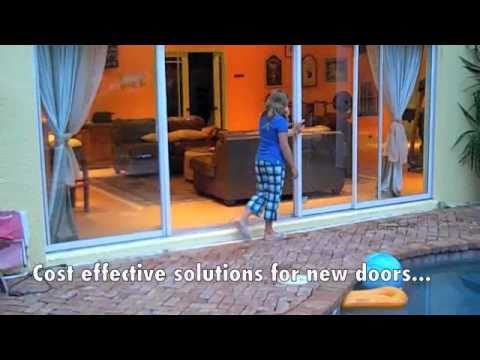 Sliding Glass Door And Window Repair By Daydid Specialties Youtube