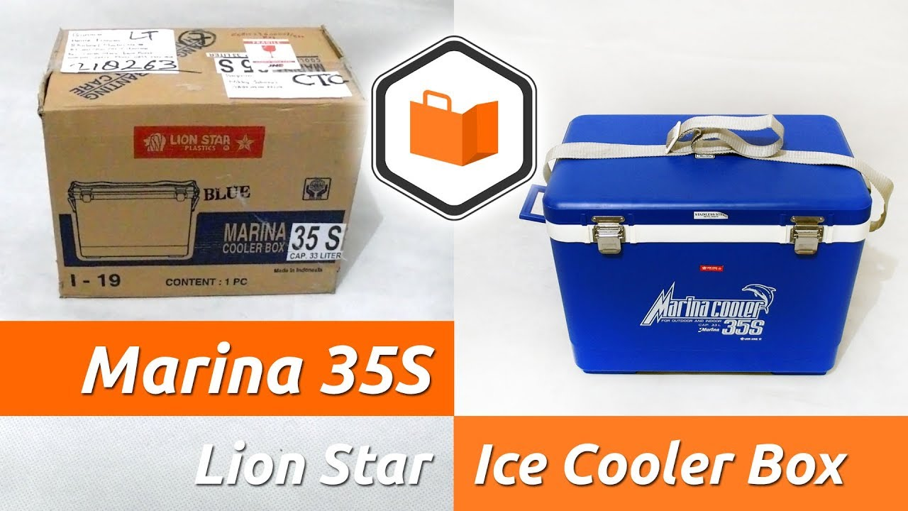 Bongkar Paket Lion Star Marina 35s Ice Cooler Box Borongbarang