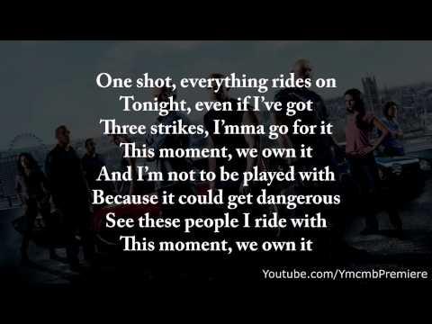 2 Chainz ftWiz Khalifa We Own It(Fast & Furious) (Lyrics)