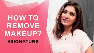 How to Remove Makeup | Vani Bhojan's Beauty Secret #Signature