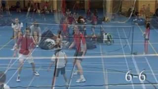 OSM Badminton WSV Jongens 3e set