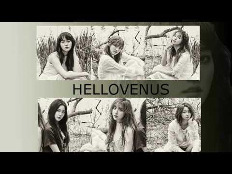 HelloVenus- GLOW ( line distribution )