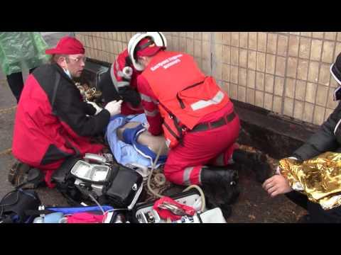 Смотреть Соревнования скорой помощи в Каменском 2016 онлайн