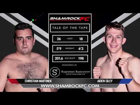 Shamrock FC 319 Chris Martinek Vs Aidan Siley