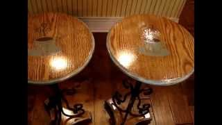 End Table Coffee Tables  That Pop Are Finished! Video #7