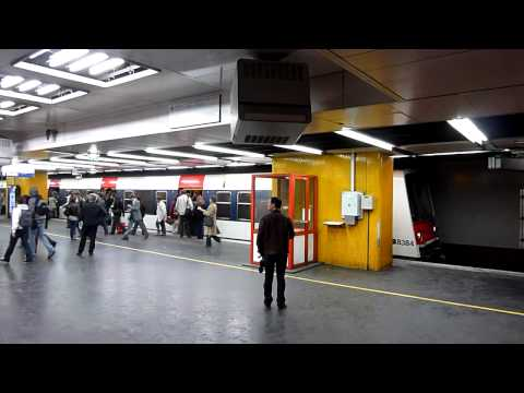 RER A in Paris  - Time lapse