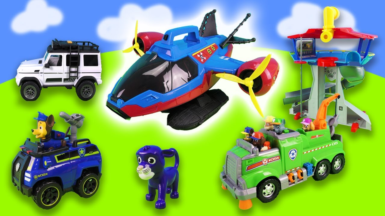 Paw Patrol: Forest fire, accident and towing service