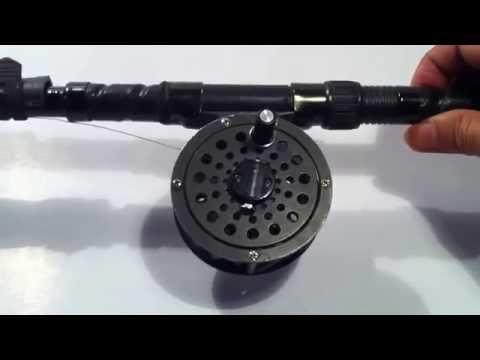 Fishing - How to Quick setup a complete fishing line (4) Cách ráp một đường câu,khẩn cấp