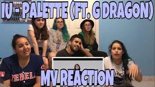 AKA REACTS! IU (아이유) - Palette (팔레트) Feat. G-DRAGON MV Reaction