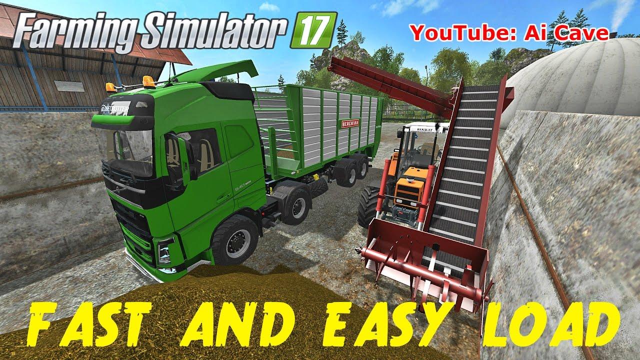 Farming Simulator 2017 Fast Amp Easy Loading Mods Truck