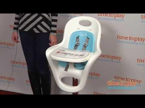 Flair Pedestal High Chair From Boon   YouTube