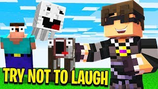 minecraft-do-not-laugh-mega-meme-time