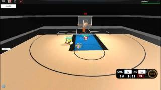 how to shot on NAB hoopz on roblox