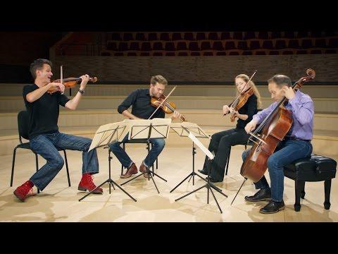 HAYDN String Quartet in G minor, Op 20 no 3: 1. Allegro con spirito, by St Lawrence String Quartet