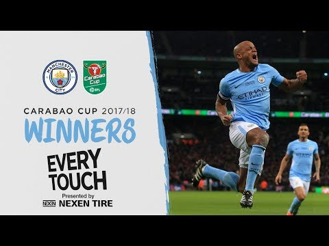 VINCENT KOMPANY EVERY TOUCH | CARABAO CUP FINAL V ARSENAL