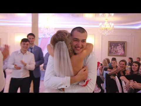 Бросание подвязки на свадьбе 04.10.17