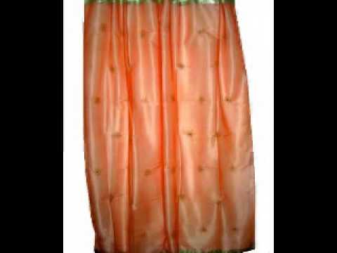 Indian Sari Curtains Drapes