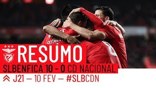 HIGHLIGHTS: SL BENFICA 10-0 CD NACIONAL